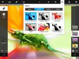 Photo Shop Touch UI