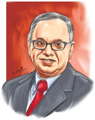 my role model narayan murthy