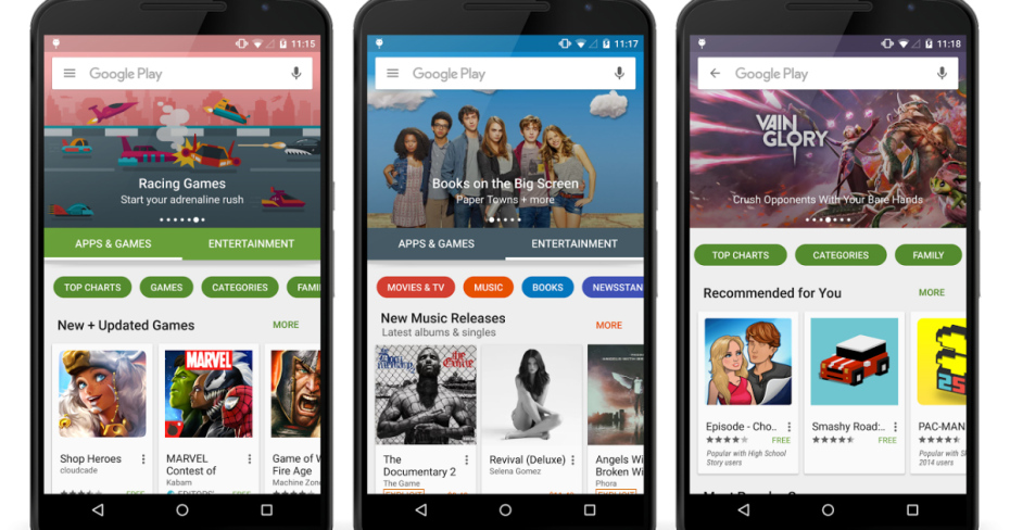 google-play-redesign-2